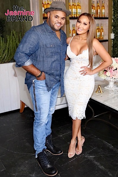 Adrienne Bailon & Israel Houghton Marry In Paris