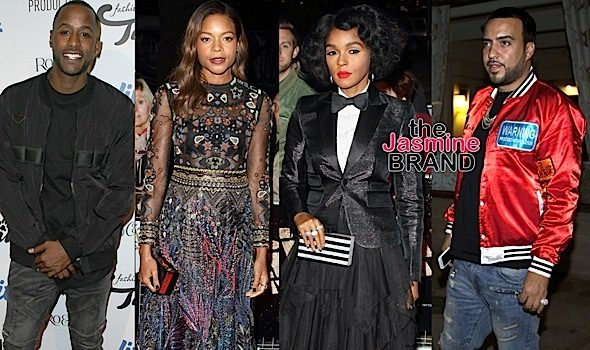 Jackie Long, Naomie Harris, Janelle Monae, French Montana, Garcelle Beauvais, Trey Songz [Celebrity Stalking]