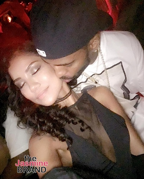 Big Sean Fondles Jhene Aiko On Stage [VIDEO]