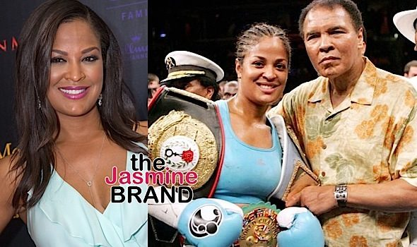 Laila Ali Clarifies 'All Lives Matter' Comments, Reacts To Criticism She's A Disgrace To Late Father Muhammad Ali