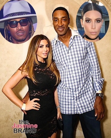 Scottie & Larsa Pippen's Split Blamed On Future & Kardashian Sisters + Couple May Reconcile