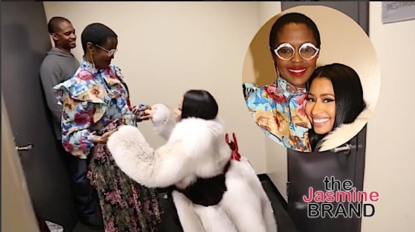 Nicki Minaj Bows Down To Lauryn Hill: She's a goddess! [VIDEO]