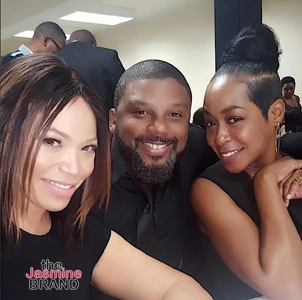 'Martin Show' Cast Attends Tommy Ford Funeral [Photos]