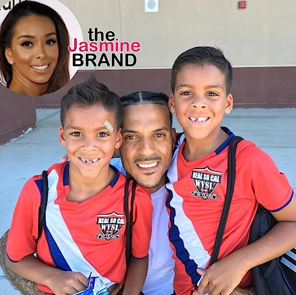 (EXCLUSIVE) Matt Barnes Denies Custody Battle With Gloria Govan