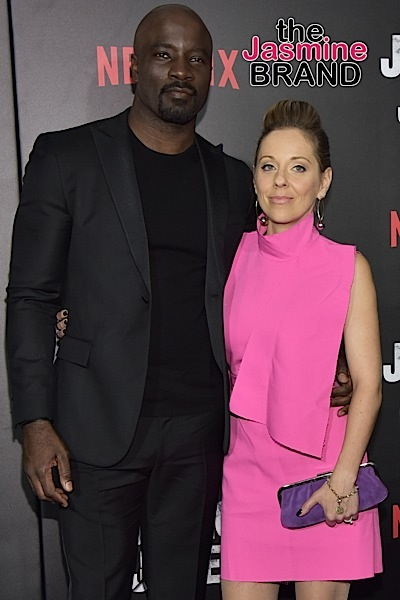 """Luke Cage"" Star Mike Colter Reacts To Criticism For Being Married To A White Woman"