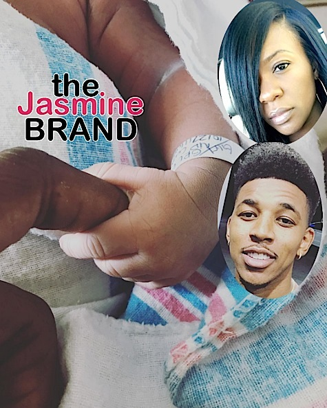 Nick Young & Girlfriend Keonna Welcome Baby No. 3, Son Nyce [Photos]