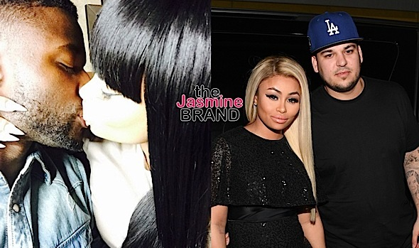 Blac Chyna Explains Photo Kissing Pilot Jones, Rob Kardashian Under Investigation For Criminal Threat