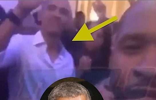 Obama Parties At White House With Usher, Common, Janelle Monae & Questlove [VIDEO]