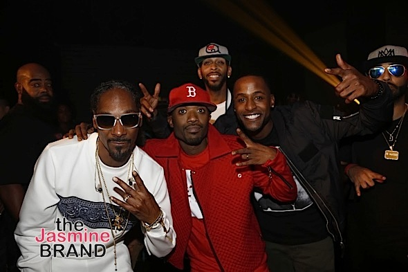 Snoop Dogg Celebrates Birthday With Ray J, Anthony Anderson, Jackie Long & Omar Gooding [Photos]