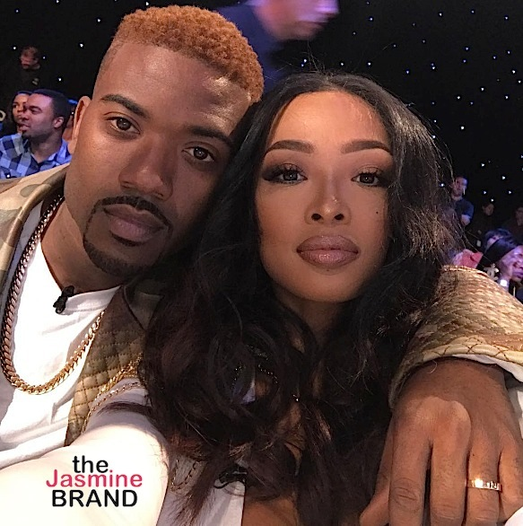 Ray J's Wife Princess Love Is Pregnant! [Ovary Hustlin']