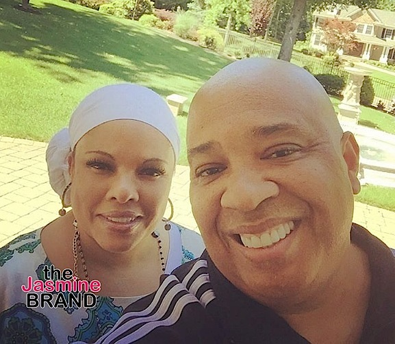 Justin Simmons & husband Rev. Run