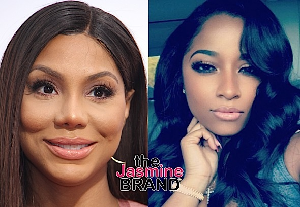 Tamar Braxton Address Beef With Toya Wright: It was hurtful. I want her to win.