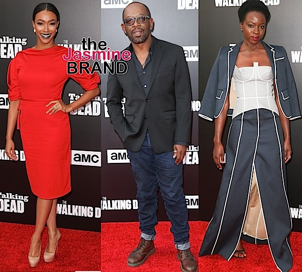 "Danai Gurira, Sonequa Martin-Green, Lennie James & ""The Walking Dead"" Celebrate New Season On ""The Talking Dead"""