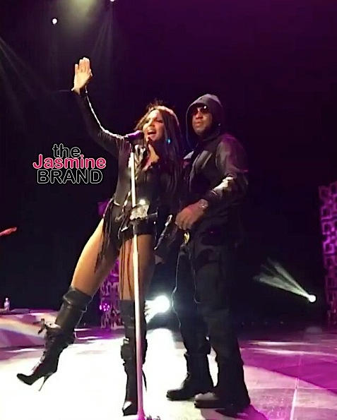 Toni Braxton Brings Out Boyfriend Birdman [VIDEO]