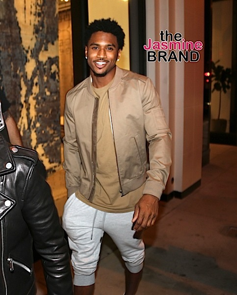 Is Trey Songz A New Daddy? Singer Debuts Newborn & Ex Lori Harvey Congratulates Him [Photos]