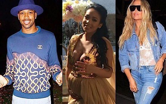 Khloe Kardashian's Rumored Boyfriend Tristan Thompson Has Alleged Baby On the Way [Photos]