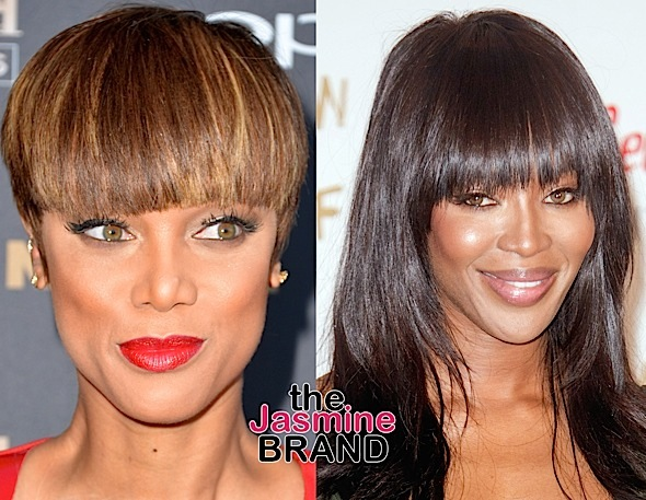 This Is Why Tyra Banks Is Still 'Very Afraid' of Naomi Campbell