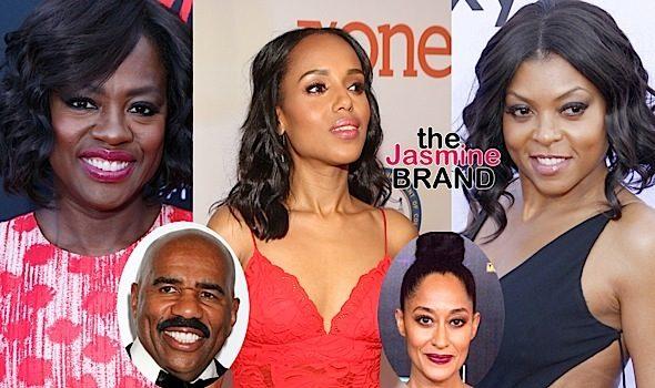 Salaries Revealed: Viola Davis & Kerry Washington Bring In $250k Per Episode + Find Out How Much Taraji P. Henson, Terrence Howard, Steve Harvey & Tracee Ellis Ross Make!