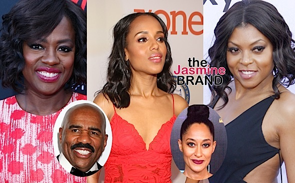 Salaries Revealed: Viola Davis & Kerry Washington Bring In $250k Per Episode + Find Out How Much Taraji P. Henson, Terrence Howard, Steve Harvey & Tracee Ellis Ross Make!