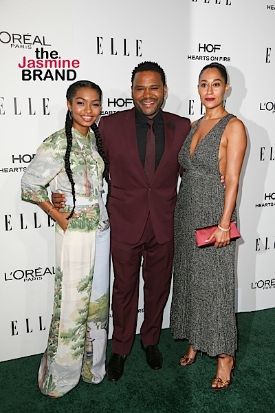 Tracee Ellis Ross Admits Before Black-ish She didn't Like Anthony Anderson: I thought he was an asshole.