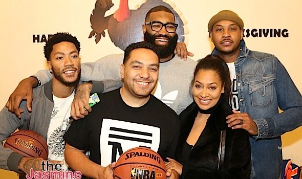 Lala Anthony Feeds 250 Underprivileged Kids: Carmelo Anthony, Derrick Rose, Fat Joe, French Montana, Snoop, Dave East Attend [Photos]