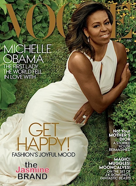 Michelle Obama Makes Her Final VOGUE Cover As First Lady