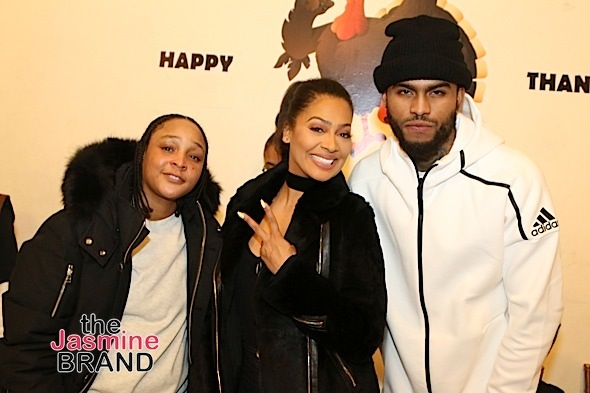 Lala Anthony Feeds 250 Underprivileged Kids: Carmelo Anthony, Derrick Rose, Fat Joe, French Montana Attend [Photos]