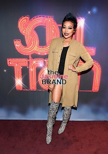 "LAS VEGAS, NV - NOVEMBER 03: Singer Monica attends ""Acoustically Speaking Sponsored by Toyota"" at House of Blues during Soul Train Weekend on November 3, 2016 in Las Vegas, Nevada. (Photo by Paras Griffin/BET/Getty Images for BET)"