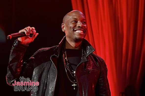 LAS VEGAS, NV - NOVEMBER 04: Singer/Actor Tyrese Gibson performs onstage during 2016 Soul Train Music Awards - Soul Train Music Fest on November 4, 2016 in Las Vegas, Nevada. (Photo by Paras Griffin/BET/Getty Images for BET)