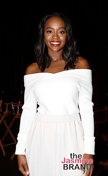 "LOS ANGELES, CA - NOVEMBER 7: Actress Aja Naomi King attends 48TH NAACP Image Awards Presents A Special Screening of ""Birth of A Nation"" at FOX Studios 
