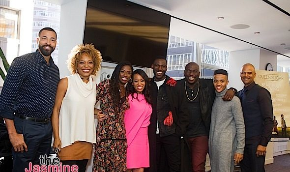 """Queen Sugar"" Hosts Press Conference: Rutina Wesley, Dawn-Lyen Gardner, Kofi Siriboe, Omar J. Dorsey, Dondré T. Whitfield"