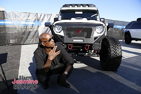 "LAS VEGAS, NV - NOV.4th: Tyrese Gibson Launches Voltron Motors ""Rebel Jeep"" at SEMA Show at The Las Vegas Convention Center on Friday, November 4, 2016 in Las Vegas, Nevada. (Photo Courtesy of: Voltron Media/Arnold Turner)"