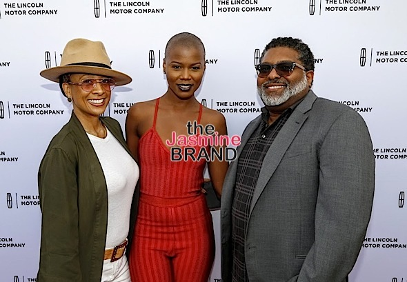 CULVER CITY, CA - NOVEMVER 12: Manager Monica Payne, recording artist V. Bozeman and manager Max Gousse seen at Sanaa Lathan & V. Bozeman host Lincoln Motor Company Presents: Luxury Is... on Saturday Nov. 12, 2016 at Unici Casa in Culver City, California. (Photo by A Turner Archives)
