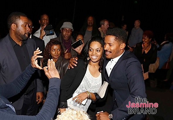 "LOS ANGELES, CA - NOVEMBER 7: Actor/Director Nate Parker seen with fans at 48TH NAACP Image Awards Presents A Special Screening of ""Birth of A Nation"" at FOX Studios 