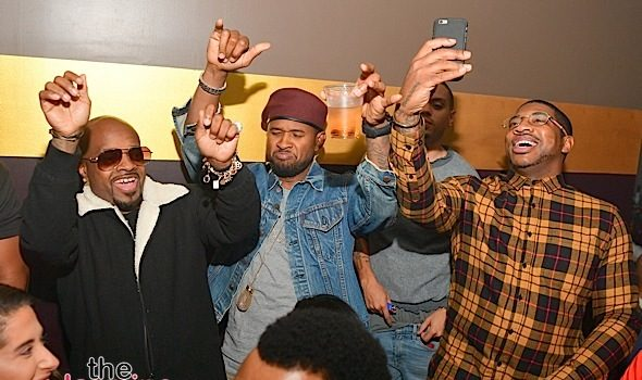 Usher, Gucci Mane, Jermaine Dupri, Evan Ross, Avery Wilson, DJ Holiday Party in ATL [Photos]