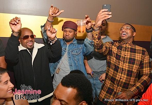 Usher, Gucci Mane, Jermaine Dupri, Evan Ross, Avery Wilson, DJ Holiday Party in ATL [Photos]