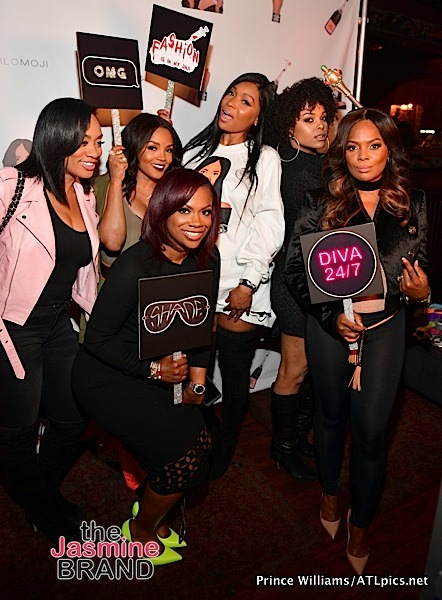 Marlo Hampton Celebrates #Marlomoji Launch With Kandi Burruss, Demetria McKinney, Rasheeda & Lisa Nicole Cloud [Photos]