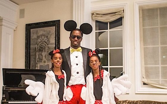 Diddy Takes Twin Daughters To School 1st Time Since Kim Porter's Passing: Today The Journey Begins!