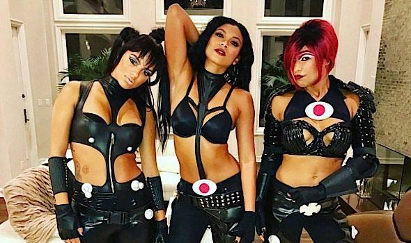 Celebrity Halloween Costumes: Eniko Hart, Rob Kardashian & Blac Chyna, Karrueche Tran, Lala Anthony, Lena Dunham, Bobby Brown, Drake, Fabolous, Tia Mowry