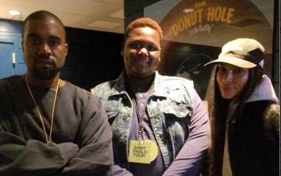 "Kim & Kanye Meet Alton Sterling's Son, Floyd Mayweather Films ""Hit A Lick"" + 50 Cent Celebrates Angela Yee & DJ Envy's Juice Bar [VIDEO]"