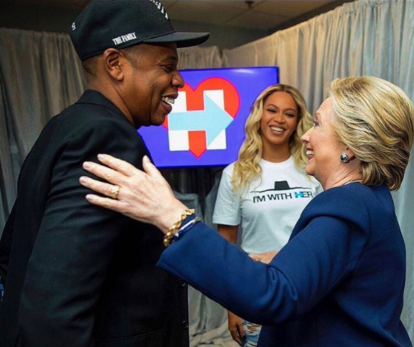 Jay Z & Beyonce Perform For Hillary Clinton Rally + J.Cole, Big Sean & Chance the Rapper Hit the Stage [VIDEO]