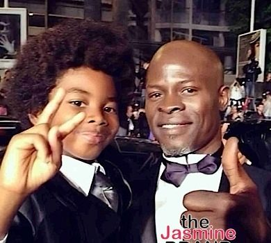 Djimon Hounsou: My Son Wanted To Be Light-Skinned So He Could Be Spider-Man