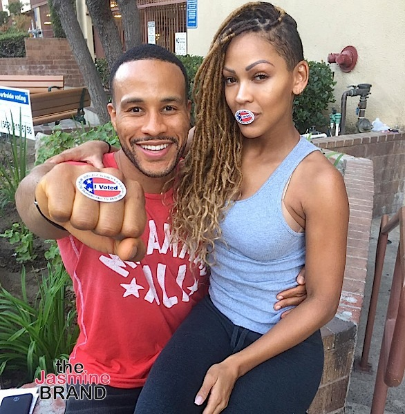 DeVon Franklin & wife Meagan Good