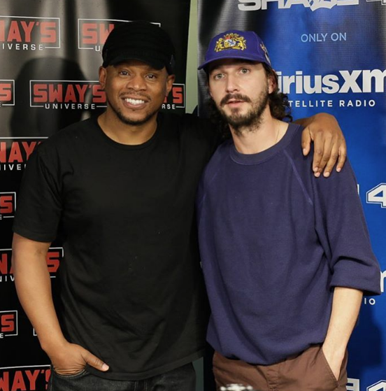 Watch Shia LaBeouf's Killer Freestyle On 'Sway In the Morning' + Twitter Reacts [VIDEO]