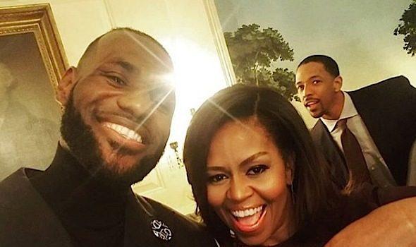 LeBron James, Kyrie Irving, Iman Shumpert & Cavs Visit White House