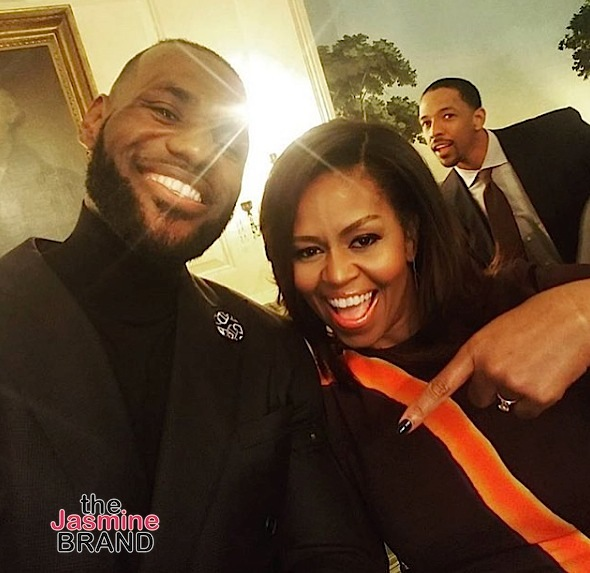 LeBron James, Kyrie Irving, Iman Shumpert & Cavs Invade Visit White House