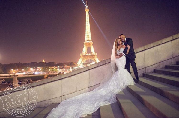 Adrienne Bailon Explains Why She Was Super Selective On Whom She Invited To Her Wedding + See Her Gown! [Photo]