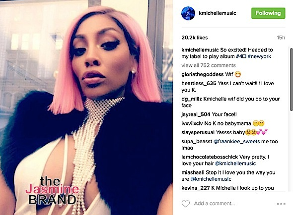 K.Michelle Reveals New Look [Photo]