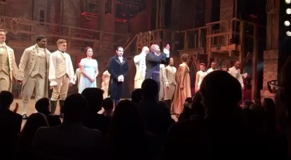 'Hamilton' Broadway Cast Addresses Mike Pence, Trump Demands Apology, Celebs React [VIDEO]