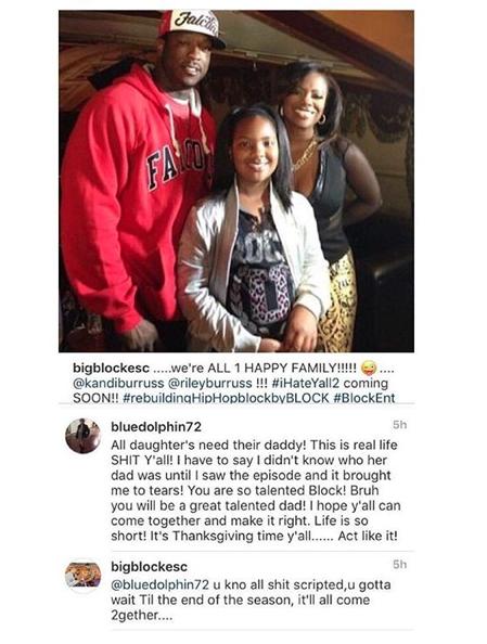 Kandi Burruss' Baby Daddy Says RHOA Is Staged